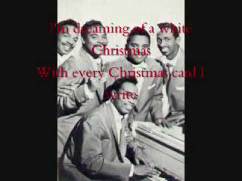 White Christmas  The Drifters with lyrics