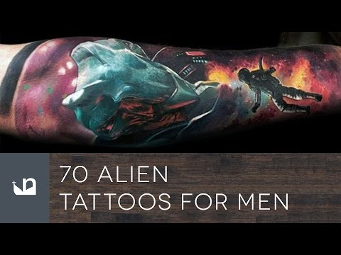 70 Alien Tattoos For Men