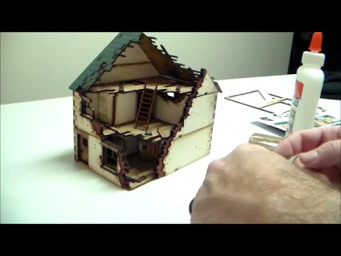Turn 7- Modeling: Building a 4Ground Damaged Detached House Type 1