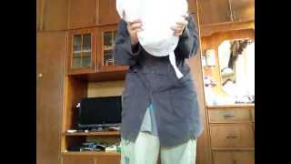 How To Fold 3-hoops, 2-hoops, Train, and 6-hoops petticoats/hoopskirts/crinoline