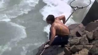 Nehirde görülmemiş balık avı - http://balikavciligi.org/