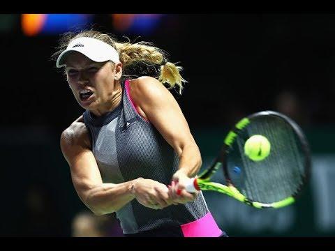2017 WTA Finals Round Robin | Elina Svitolina vs Caroline Wozniacki | WTA Highlights