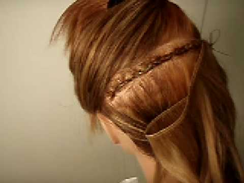 How to sew on a track hair extensions beginners youtube pmusecretfo Images