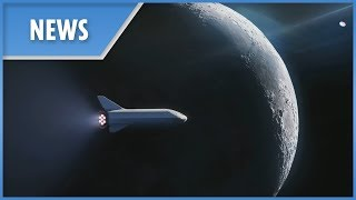 SpaceX BFR Lunar mission announcement (FULL)