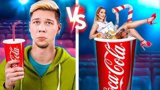 ¡Cine Lujoso vs Cine Pobre! 15 Formas de Escabullir Comida al Cine