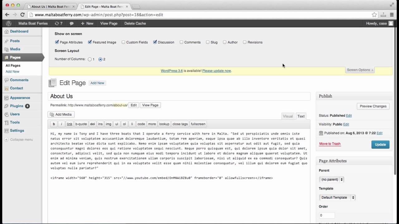 982ed76c5e03 How To Remove Leave a Reply Box in Wordpress - YouTube