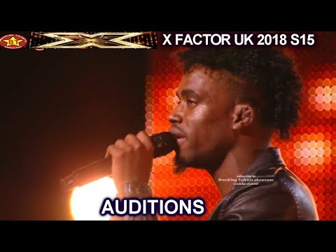 Dalton Harris from Jamaica sings Sorry Seems The Hardest STUNNING AUDITIONS week 3 X Factor UK 2018