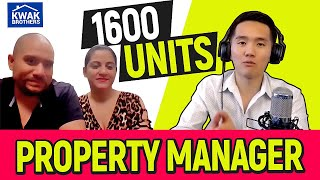 Ep 50 - Property Manager with 1600 Units