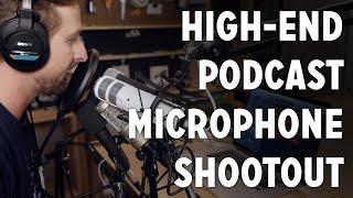 Podcaster's High Quality Microphone Shootout - Heil PR40, Shure SM7B, Telefunken M82 +