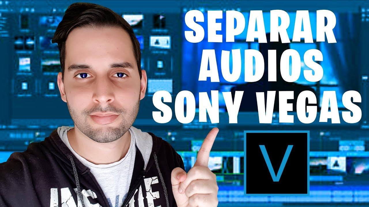 Como Separar El Audio De Un Video En Sony Vegas Youtube