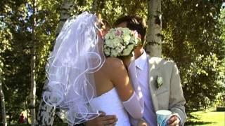 Свадебное видео, прогулка, Сергей - Света, 2011