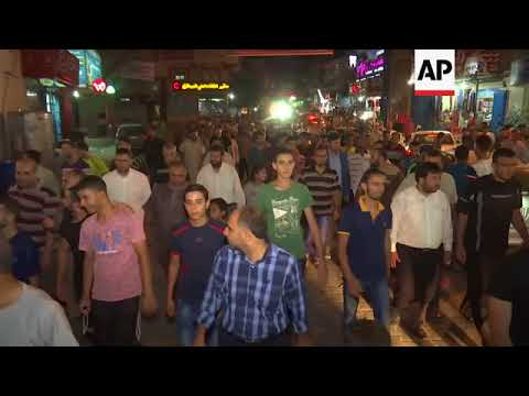 Rally in Gaza celebrating attack that killed 3 Israelis