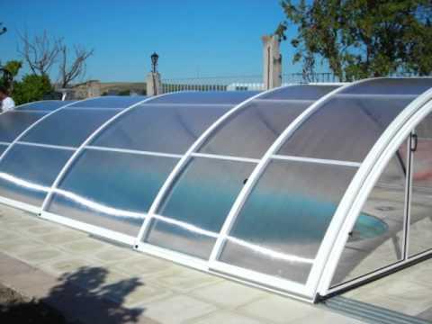 Cubiertas de piscina precios telesc pica modelo economic Cubierta piscina precio