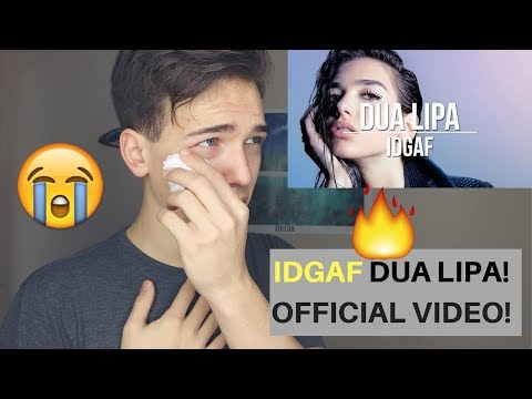 Dua Lipa - IDGAF (Official Music Video) Reaction/Review