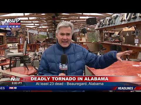 DEADLY TORNADO: At Least 23 Dead In Alabama UPDATE - YouTube