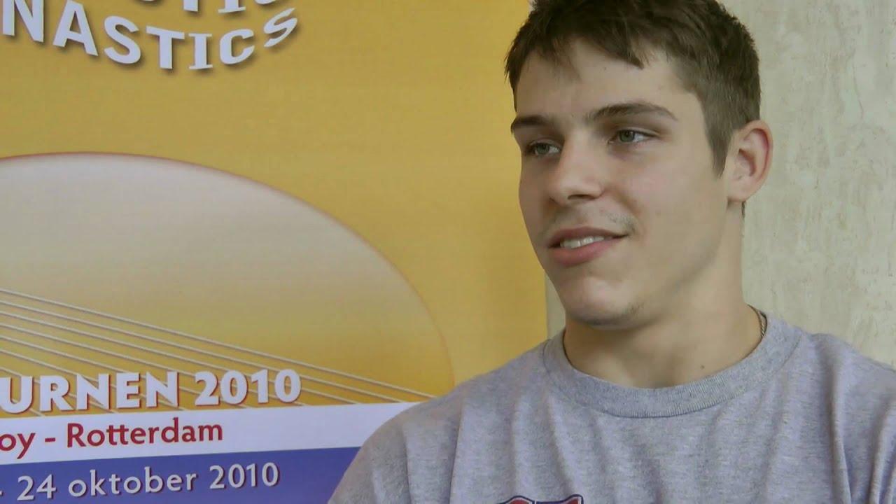 Chris Brooks Interview After Podium Training 2010