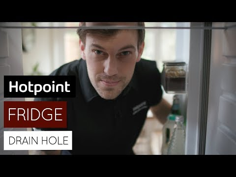 how-to-unblock-your-fridge-drain-hole- -by-hotpoint