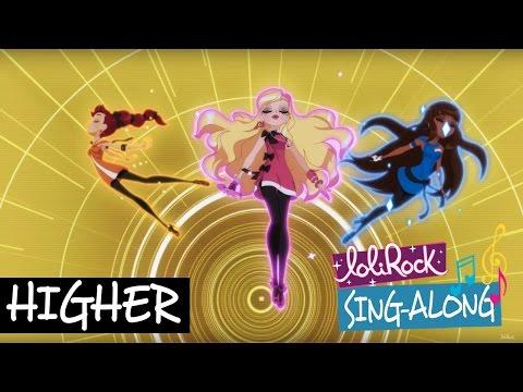 Higher | Karaoke Sing-Along Instrumental | LoliRock from YouTube · Duration:  3 minutes 21 seconds