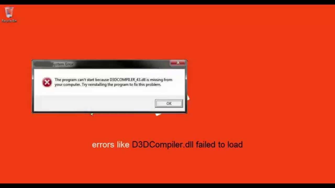 d3dcompiler 46.dll 64 bit