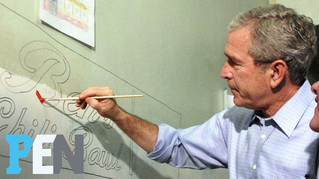 Laura Bush Was Surprised Husband George W  Bush Turned To Painting In  Retirement | PEN | TIME