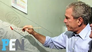 Laura Bush Was Surprised Husband George W. Bush Turned To Painting In Retirement | PEN | TIME