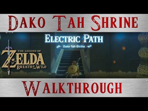 Zelda BotW  * Electric Path* Dako Tah Shrine Challenge * Breat of the Wild
