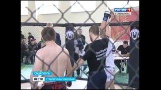 В Ставрополе прошли бои без правил