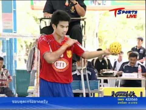 2011 Sepak Takraw Thailand League '' Bangkok Vs Karasin 2 of 10