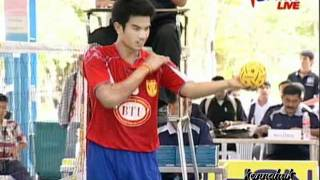 2011 Sepak Takraw Thailand League '' Bangkok Vs Karasin 2 of 10