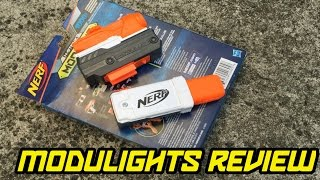 nerf modulus tactical light laser light review