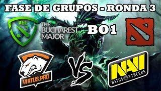 DOTA 2 EN VIVO - Virtus pro vs Natus Vincere BO1 The Bucharest Major 2018 Dota 2
