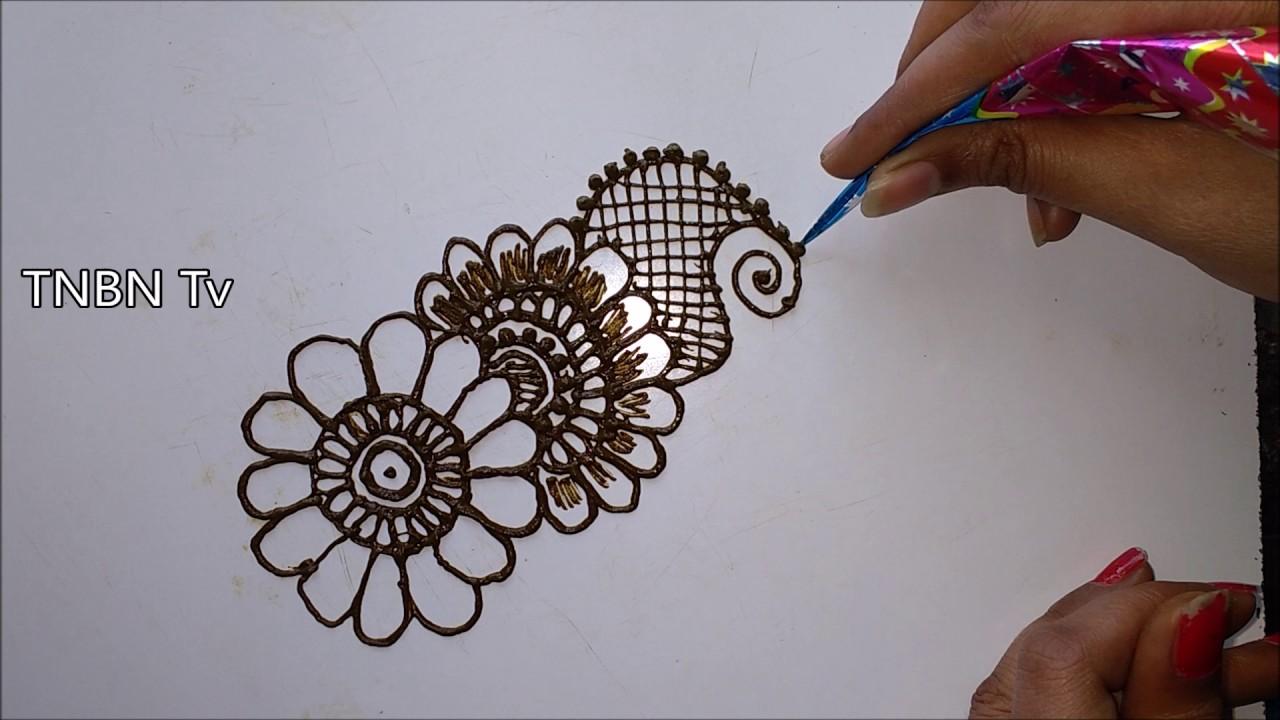 Mehndi Diya Design : Arabic mehndi designs simple henna for