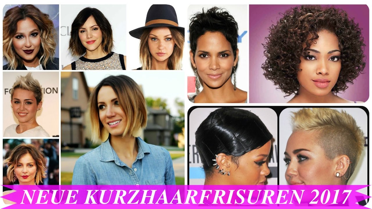 Neue Kurzhaarfrisuren 2017 YouTube