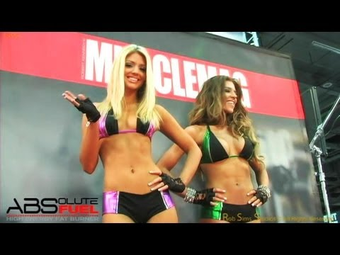 AbSolute Fuel Fat Burner at the Arnold Sports festival 2012,  Muscles, Fit Models, Girls and more!!