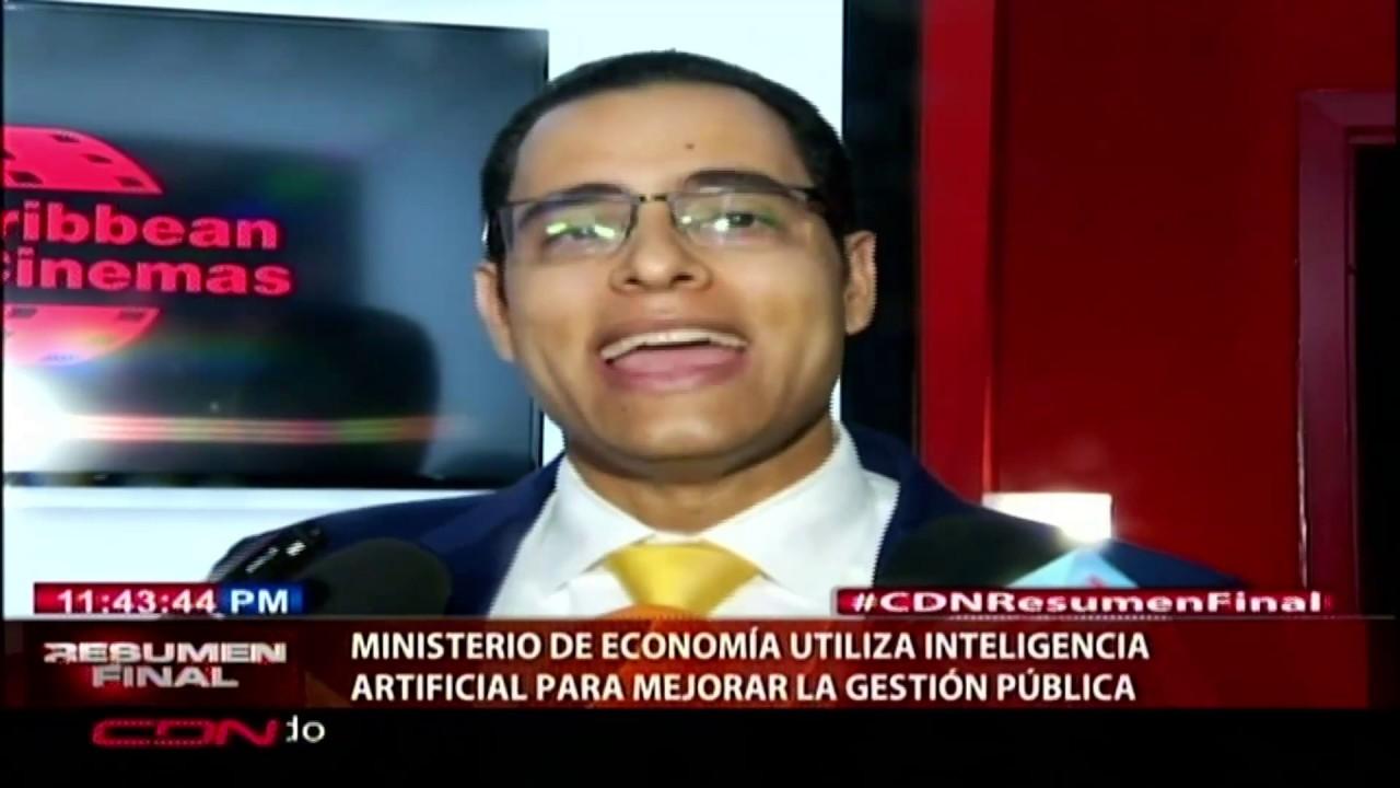 Ministerio de Economía utiliza inteligencia artificial para mejorar la gestión pública