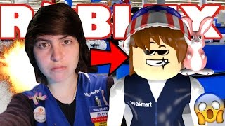 I JUST GOT MY FIRST EVER JOB... Roblox RETAIL TYCOON!