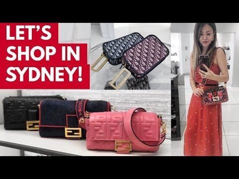 COME LUXURY SHOPPING WITH ME IN SYDNEY   DIOR, FENDI & HERMES - Part 1 VLOG