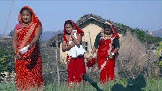 CBSN documentary examines child marriage in Nepal