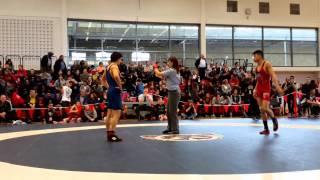 2015 Junior National Championships: 55 kg Phillip Le vs. Ligrit Sadiku