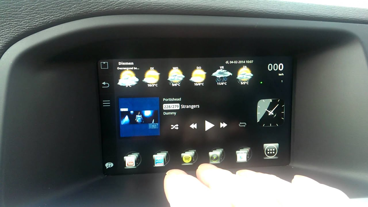 Volvo Sensus Connected Touch XDA root  (Update 3)
