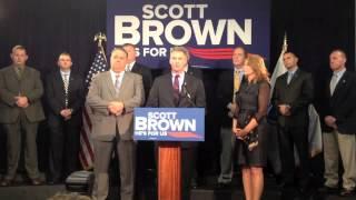 Scott Brown Discusses Elizabeth Warren's Middle Class Tax Hikes