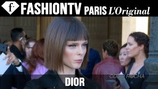 Dior Arrivals ft Natalia Vodianova, Miroslava Duma | Paris Fashion Week Spring 2015 | FashionTV