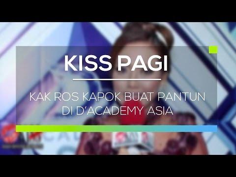 Kak Ros Kapok Buat Pantun di D'Academy Asia - Kiss Pagi