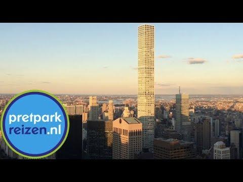 Uitzicht Top of the Rock - Rockefeller Center New York - Top of the Rock Observation Deck