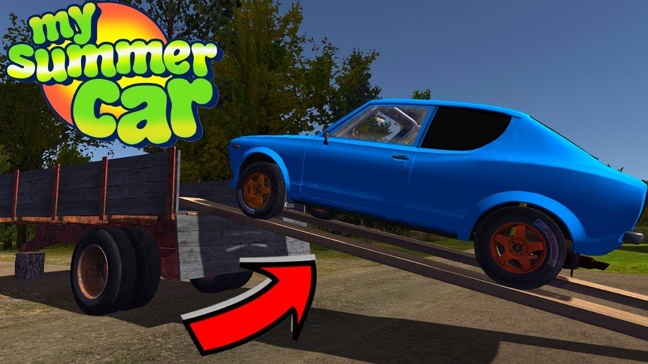 PLANKS - RAMP for VEHICLE - My Summer Car #141 (Mod)