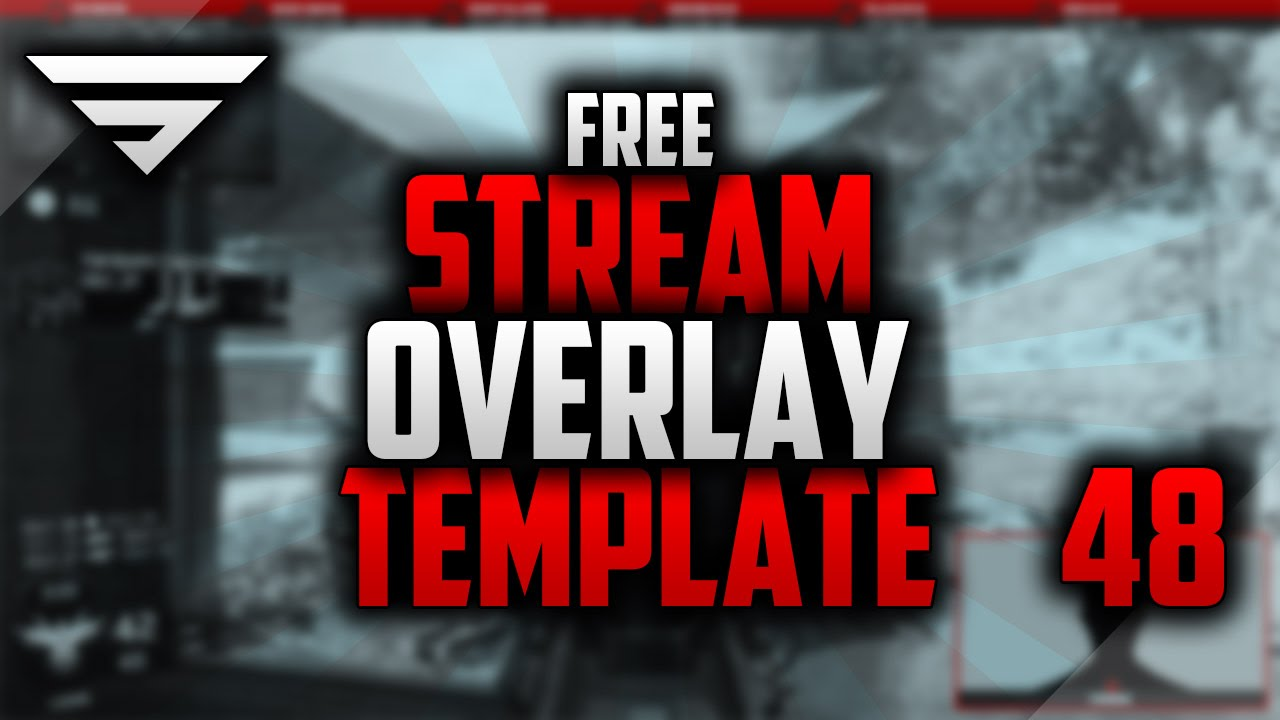 Free Twitch Overlay Template 48 Editable Photoshop Cc Seangraphicx