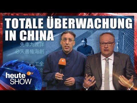 Soziales Punktesystem in China (mit Albrecht Humboldt) | heute-show vom 25.05.2018