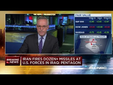 President Donald Trump Responds To Iran's Missile Attack On U.S. Forces In Iraq: 'All Is Well'