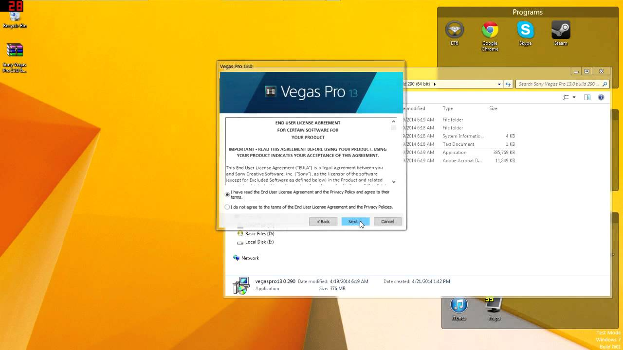 How To Get Sony Vegas Pro 13 Free! *Voice* *Mediafire* NO Password