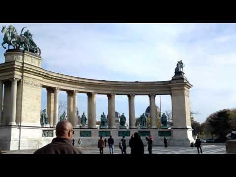 Budapest - Heroes' Square - Heldenplatz